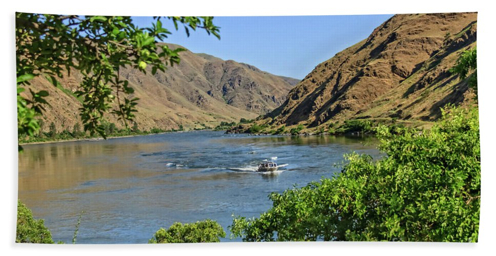 Nature Beach Towel featuring the photograph Hells Canyon 03 by Robert Bales