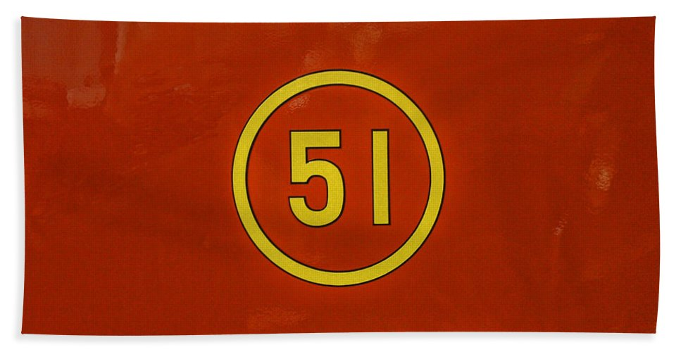 Rescue 51 Beach Towel featuring the photograph Heros Of The 70's by Tommy Anderson