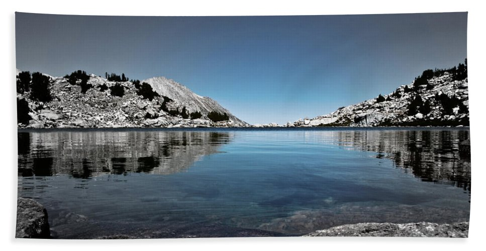 Treasure Lake Beach Towel featuring the photograph Hint Of Treasure by Chris Brannen