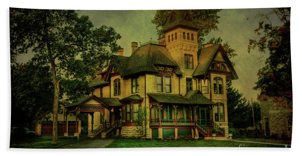 Historic Beach Towel featuring the photograph Historic Home by Joel Witmeyer