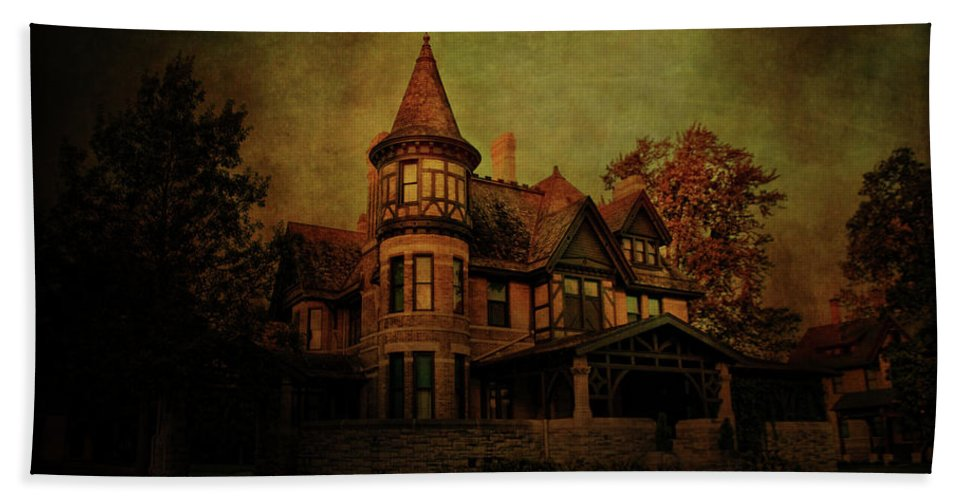 Historic Beach Towel featuring the photograph Historic House by Joel Witmeyer