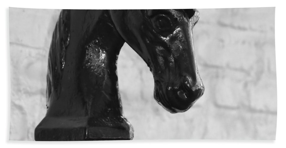Horse Beach Sheet featuring the photograph Hitching Post Art by Dressage Design