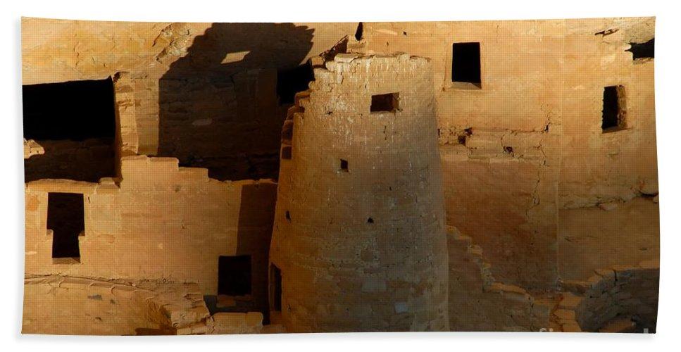 Anasazi Beach Sheet featuring the photograph Home Of The Anasazi by David Lee Thompson