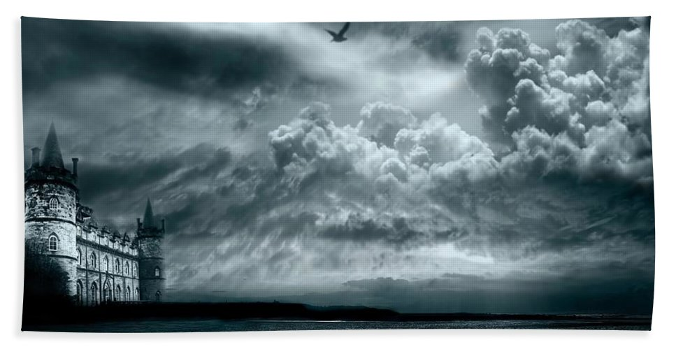 Beach Beach Towel featuring the photograph Home by Jacky Gerritsen
