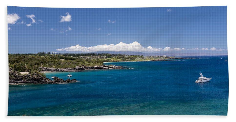 Honolua Bay Beach Towel