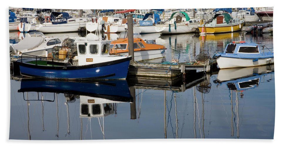 Nairn Beach Towel featuring the photograph Nairn Harbour by Diane Macdonald