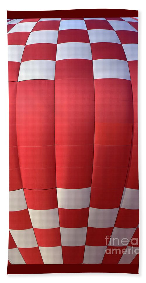 Hot Air Balloons Beach Towel featuring the photograph Hot Air 8695 by Terri Winkler