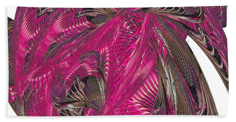 Hot Heat Beach Towel featuring the digital art Hot Heat by Warren Lynn