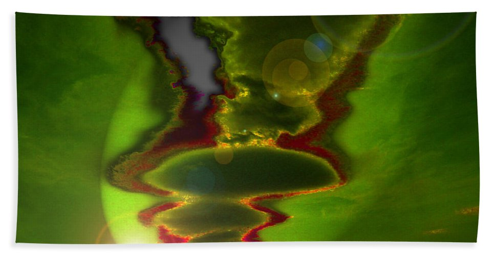 Surreal Beach Towel featuring the photograph Hovering by Mykel Davis
