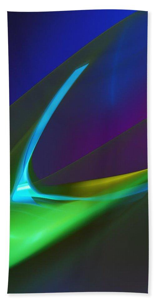 Fine Art Beach Towel featuring the digital art Hunger by David Lane