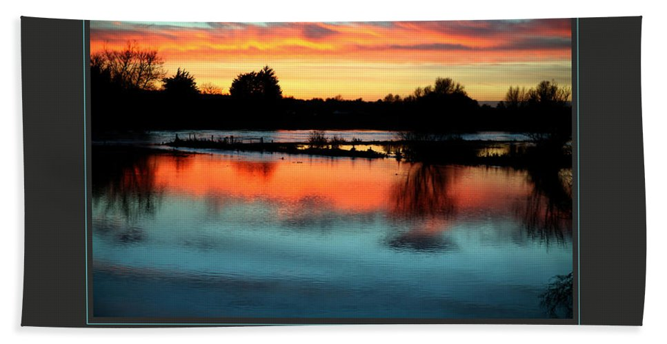 Motivational Beach Towel featuring the photograph I Am Grateful by Donna Corless
