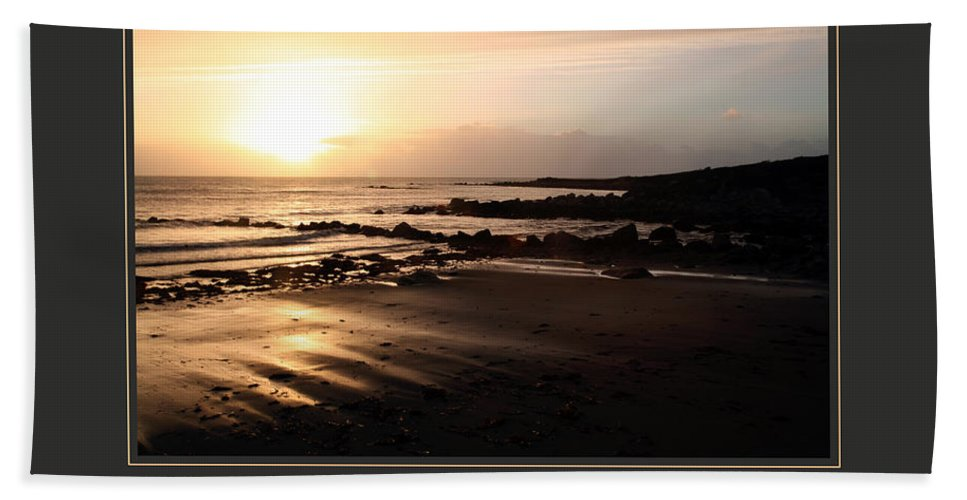 Motivational Beach Towel featuring the photograph I Create My Universe by Donna Corless