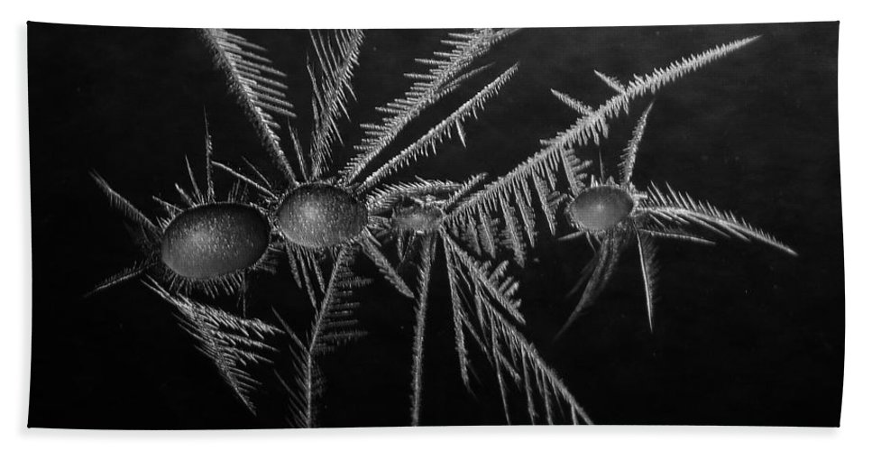 Winter Beach Towel featuring the photograph Ice Crystals ... by Juergen Weiss