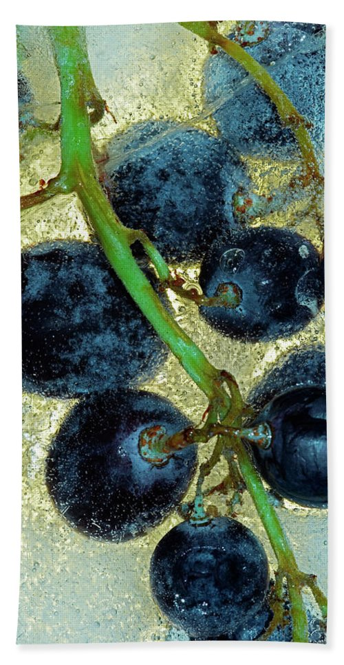 Wine Beach Towel featuring the photograph Ice Wine by Michal Boubin