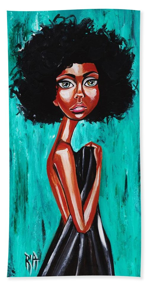 Afro Beach Towel featuring the photograph If From Past Sins Ive Been Washed Clean-why Do I Feel So Dirty by Artist RiA