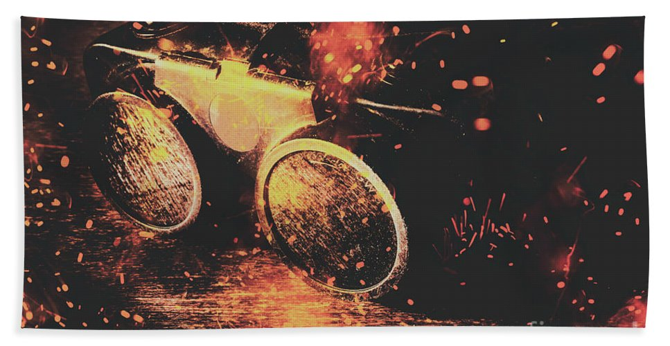 Workshop Beach Towel featuring the photograph Ignite And Inspire by Jorgo Photography - Wall Art Gallery
