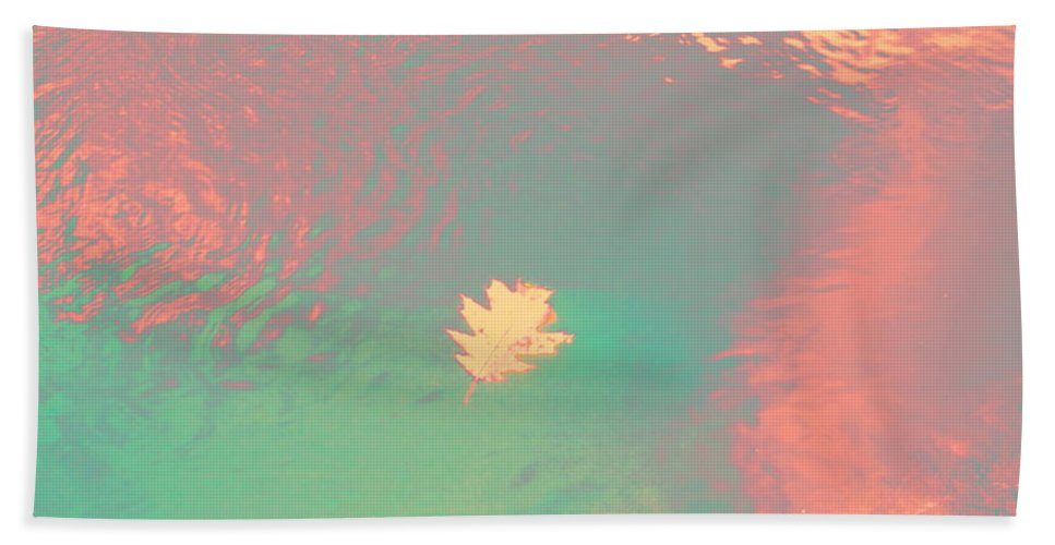Abstract Beach Towel featuring the photograph I'll Be There For You by Sybil Staples