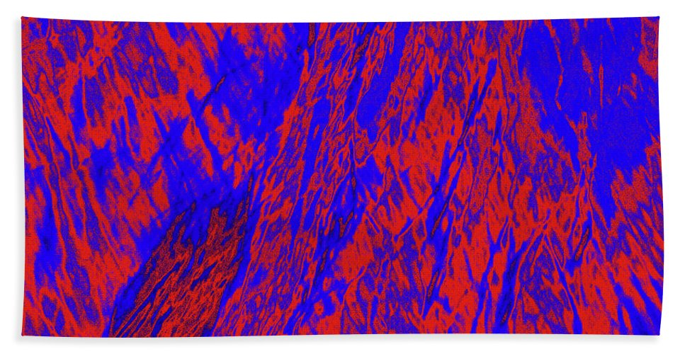 Forest Beach Towel featuring the photograph Impressions Of A Burning Forest 21 by Gary Bartoloni