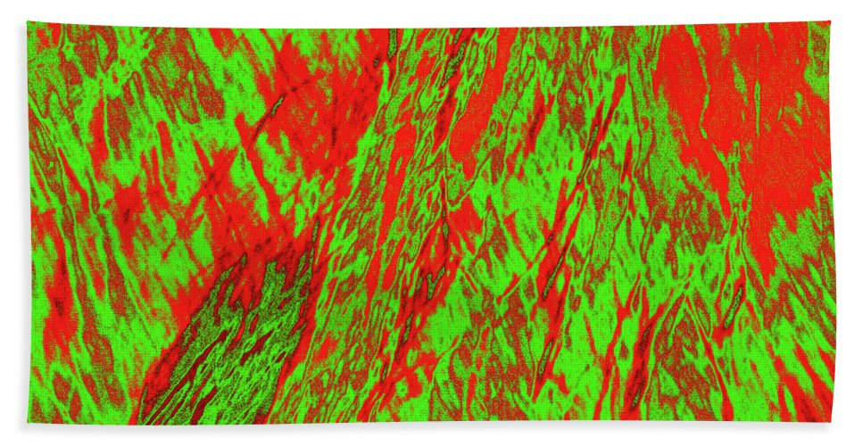 Forest Beach Towel featuring the photograph Impressions Of A Burning Forest 22 by Gary Bartoloni