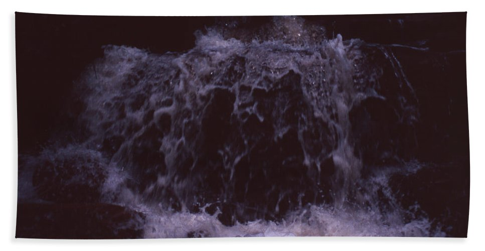 Bahia Beach Sheet featuring the photograph In A Bahian Waterfall by Patrick Klauss