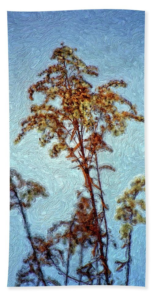 Weed Beach Towel featuring the photograph In Praise Of Weeds II by Steve Harrington