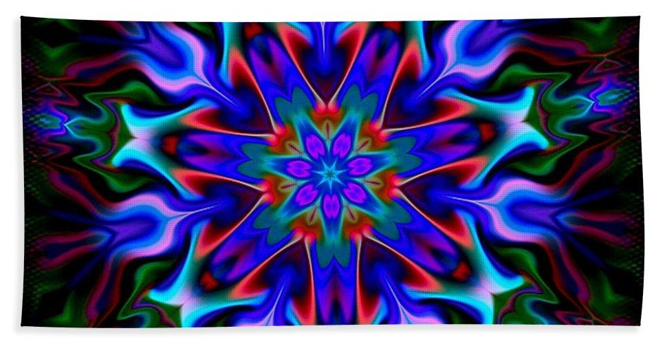 Blue Beach Towel featuring the digital art In The Spirit Of Things- by Robert Orinski