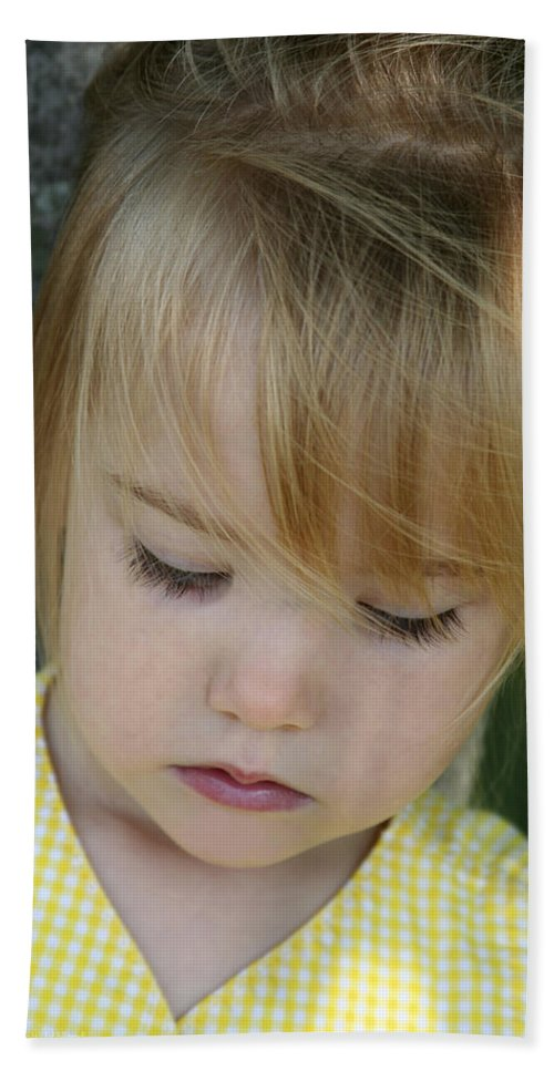 Angelic Beach Towel featuring the photograph Innocence II by Margie Wildblood