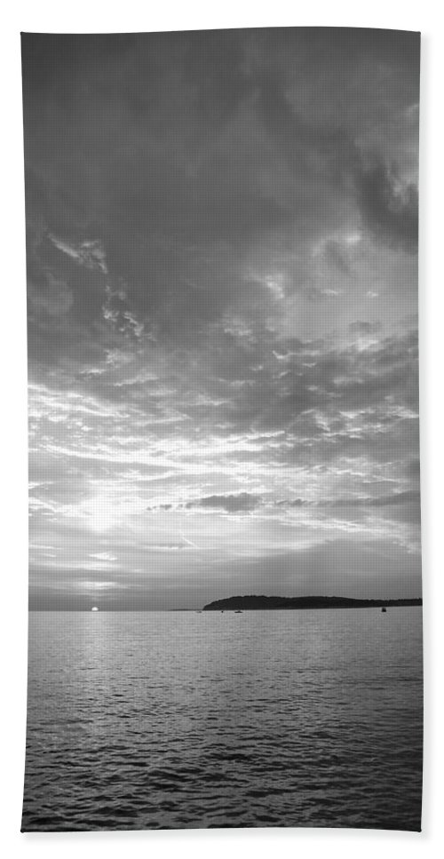 Sea Beach Towel featuring the photograph Istria by Ian Middleton
