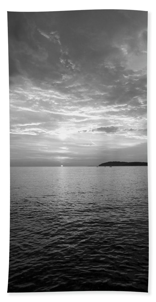 Sea Beach Towel featuring the photograph Istrian Peninsula by Ian Middleton