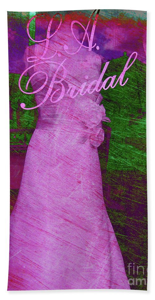 Wedding Beach Towel featuring the photograph Its A Choice You Make by Susanne Van Hulst