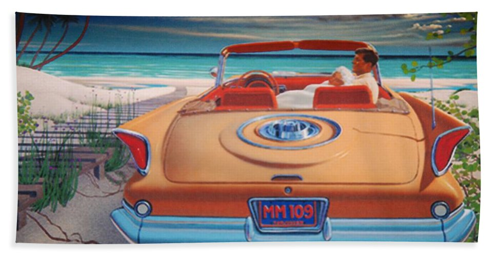 Jfk Beach Towel featuring the photograph J F K And M M by Rob Hans