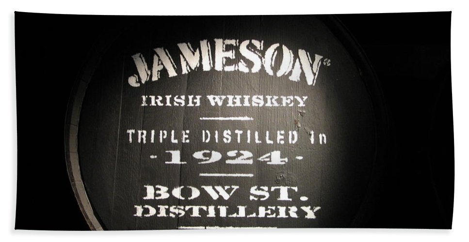 Jameson Beach Towel featuring the photograph Jameson by Kelly Mezzapelle