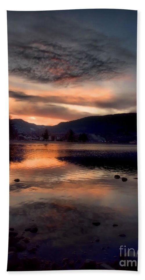 Clouds Beach Towel featuring the photograph January 16 2010 by Tara Turner