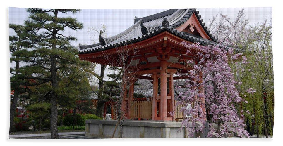 Japan Beach Towel featuring the photograph Japan Kiyomizu-dera Temple by Moshe Torgovitsky