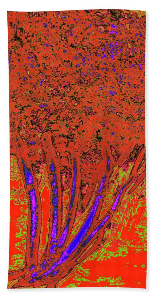Trees Beach Towel featuring the photograph Jelks Fingerling 12 by Gary Bartoloni