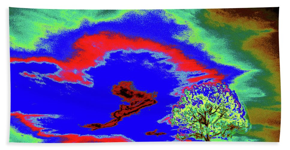 Trees Beach Towel featuring the photograph Jelks Pine 11 by Gary Bartoloni