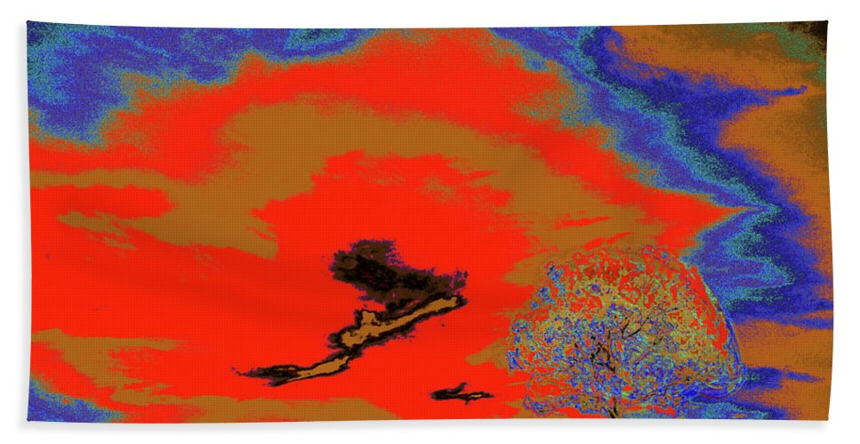 Trees Beach Towel featuring the photograph Jelks Pine 16 by Gary Bartoloni