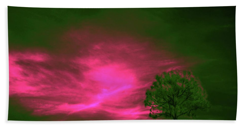 Trees Beach Towel featuring the photograph Jelks Pine 3 by Gary Bartoloni