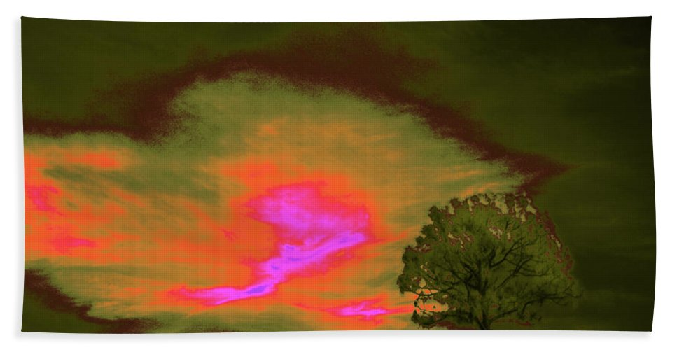Trees Beach Towel featuring the photograph Jelks Pine 4 by Gary Bartoloni