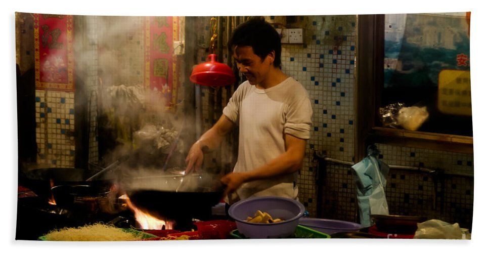 Asia Beach Towel featuring the photograph Joy Of Cooking by Venetta Archer