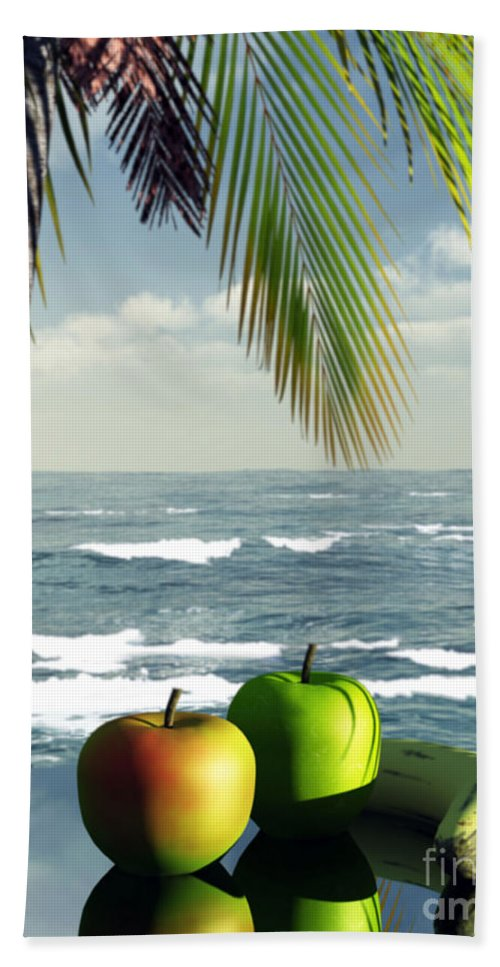 Just Dessert Beach Towel featuring the digital art Just Dessert by Richard Rizzo