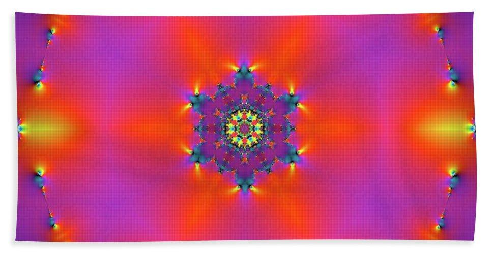 Light Beach Towel featuring the digital art Jyoti Ahau 182 by Robert Thalmeier