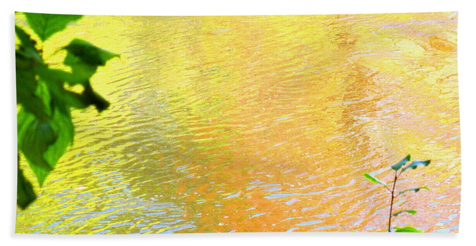 Water Art Beach Towel featuring the photograph Kindness by Sybil Staples