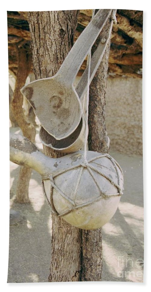 Tumacacori Beach Sheet featuring the photograph Kitchen Utensils by Kathy McClure