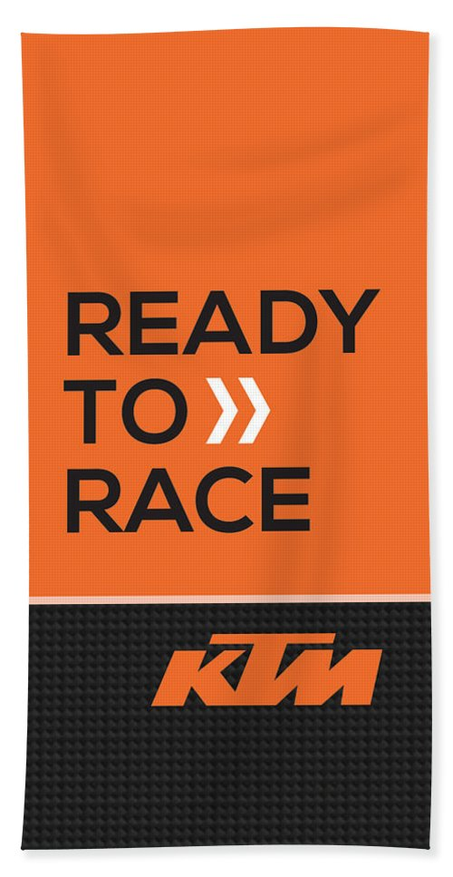 ktm ready to race beach towel for sale by srdjan petrovic