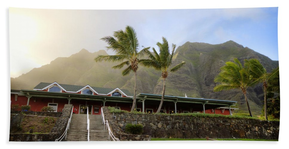 Kualoa Ranch Beach Towel featuring the photograph Kualoa Ranch 2 by Jessica Velasco