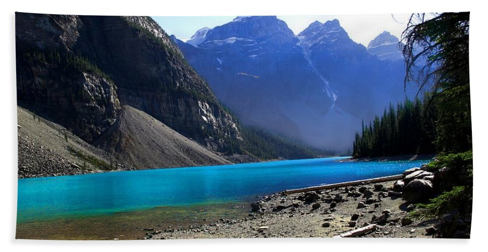 Lake Beach Towel featuring the photograph Lake Louise by Marcin and Dawid Witukiewicz