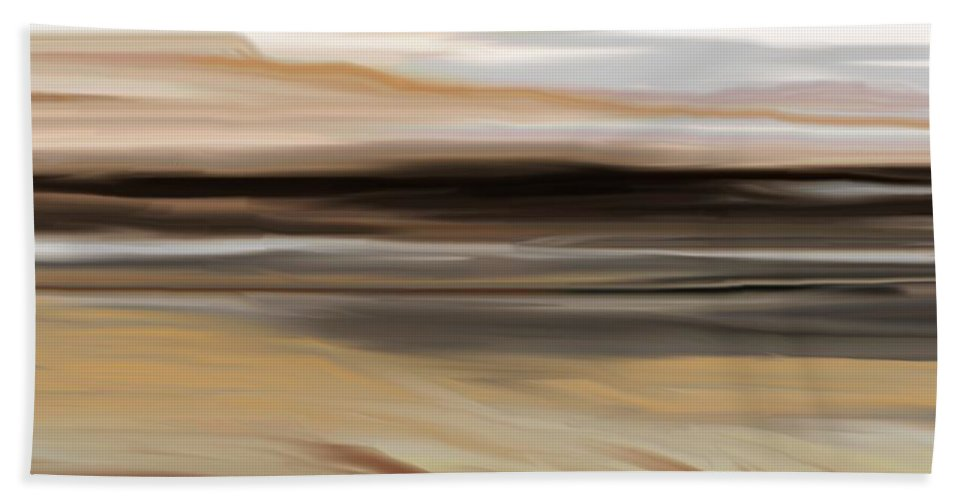 Landscape Beach Towel featuring the digital art Landscape 103010 by David Lane
