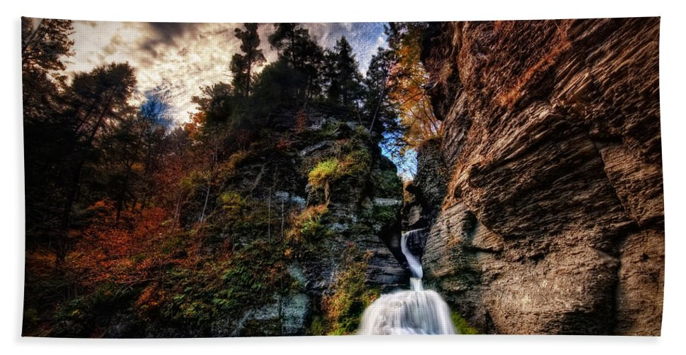 Mine Kill State Park Beach Towel featuring the photograph Laurelindorinan by Neil Shapiro