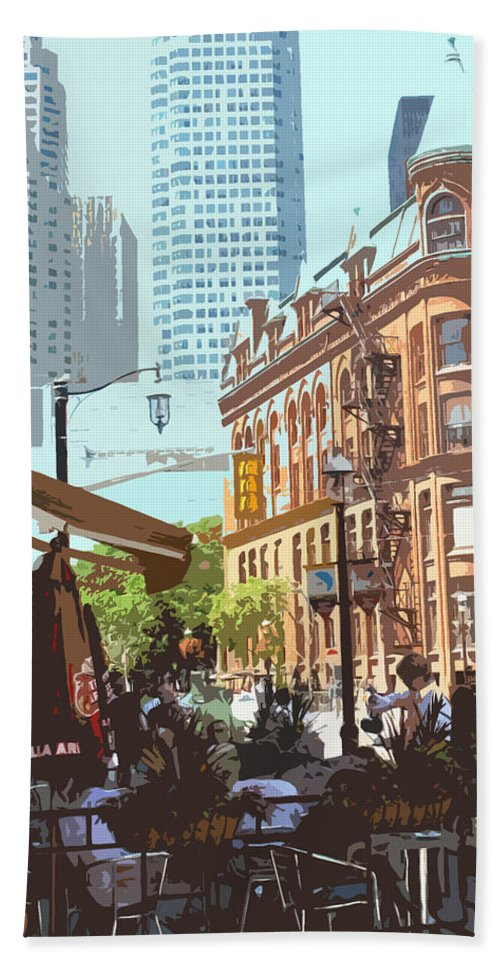 Castiron Building Beach Towel featuring the photograph Lazy Summer Afternoon by Ian MacDonald